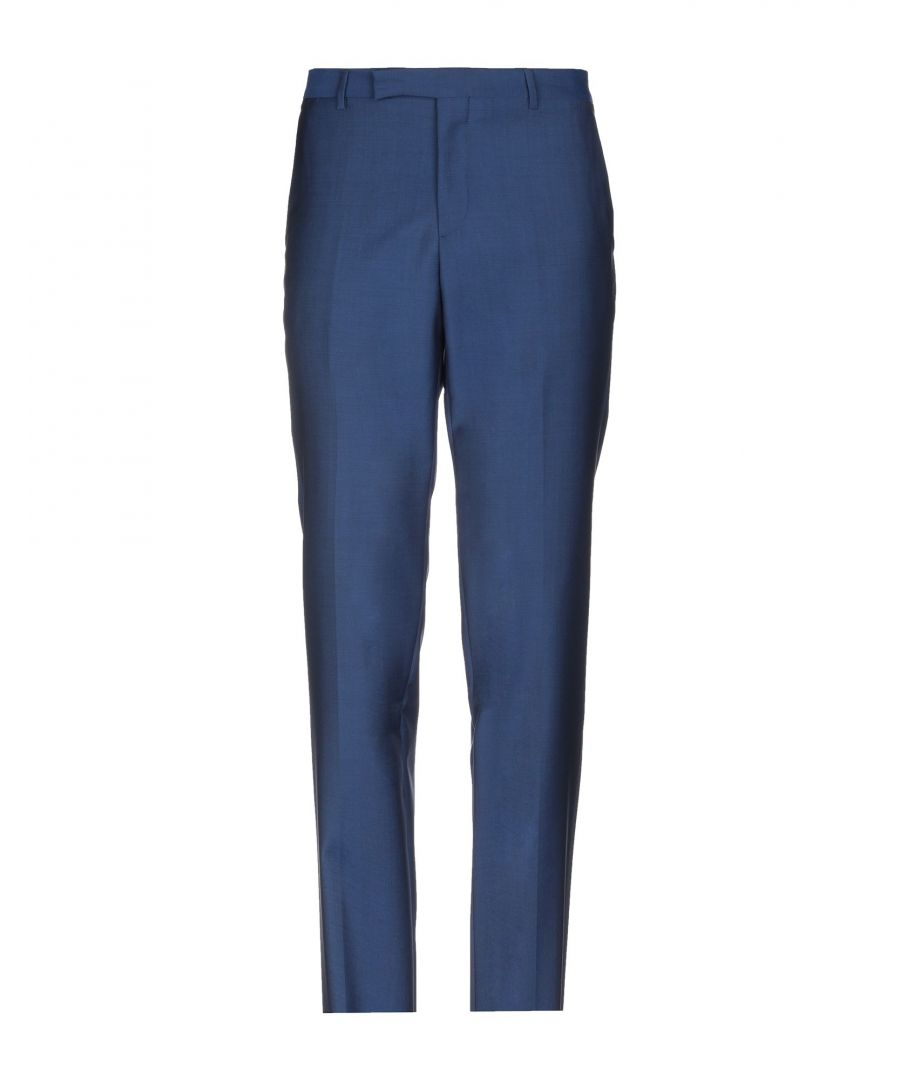 Image for TROUSERS Paul Smith Blue Man Wool