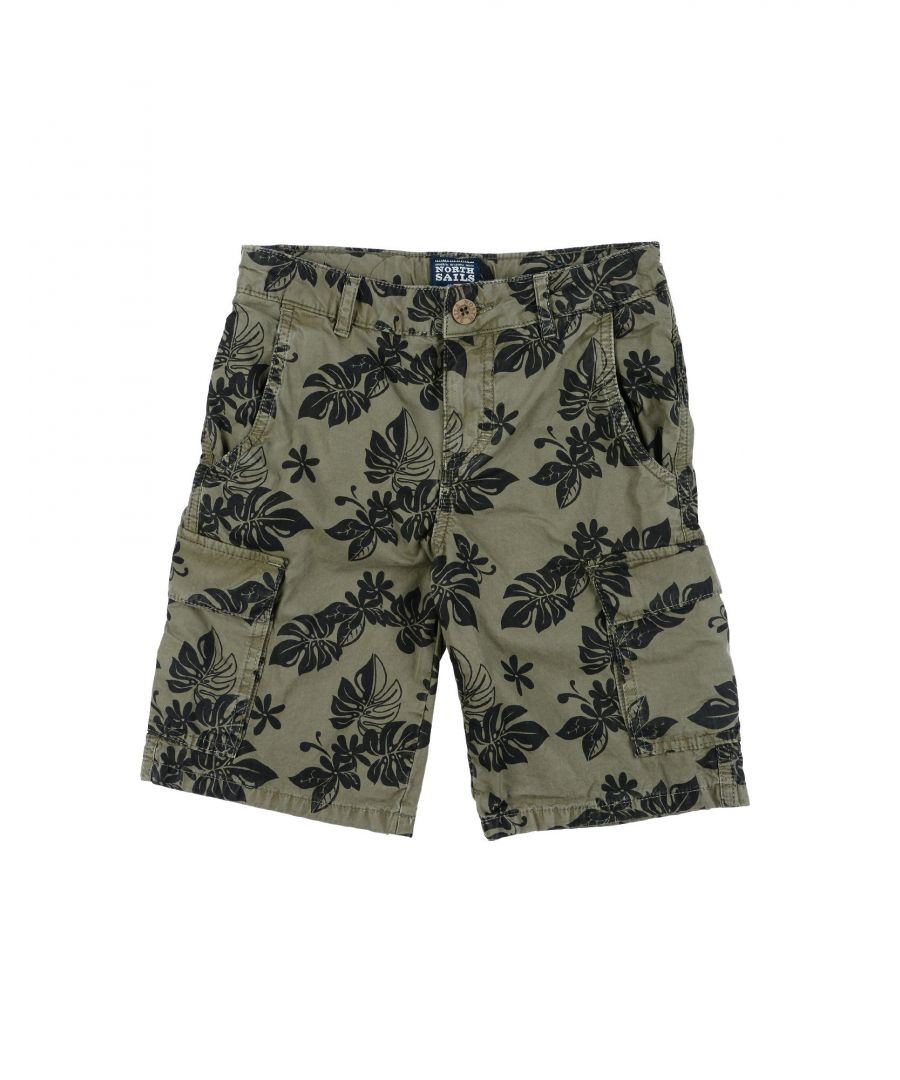 Image for TROUSERS North Sails Military green Boy Cotton