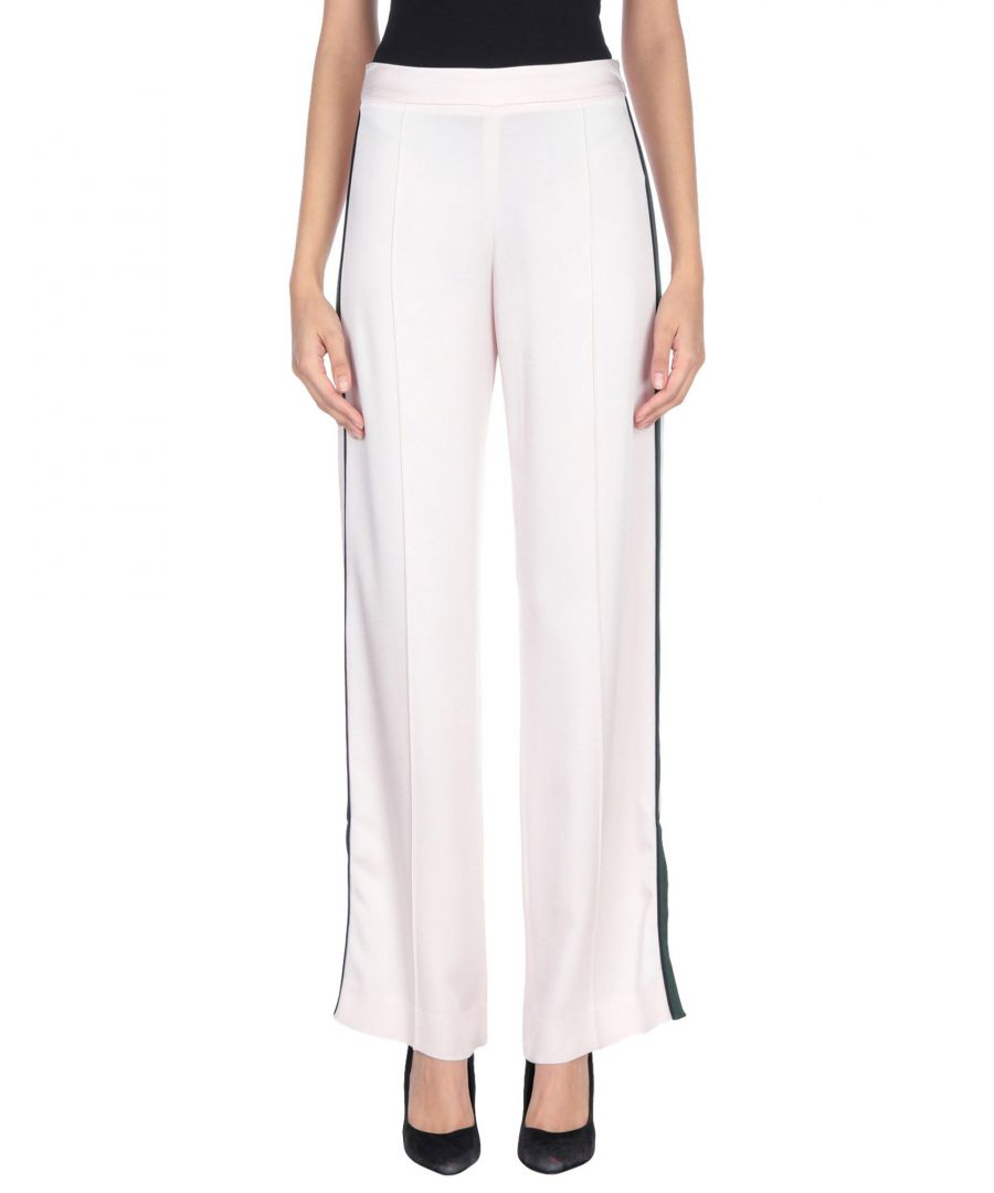 Image for TROUSERS Woman Mother Of Pearl Light pink Acetate
