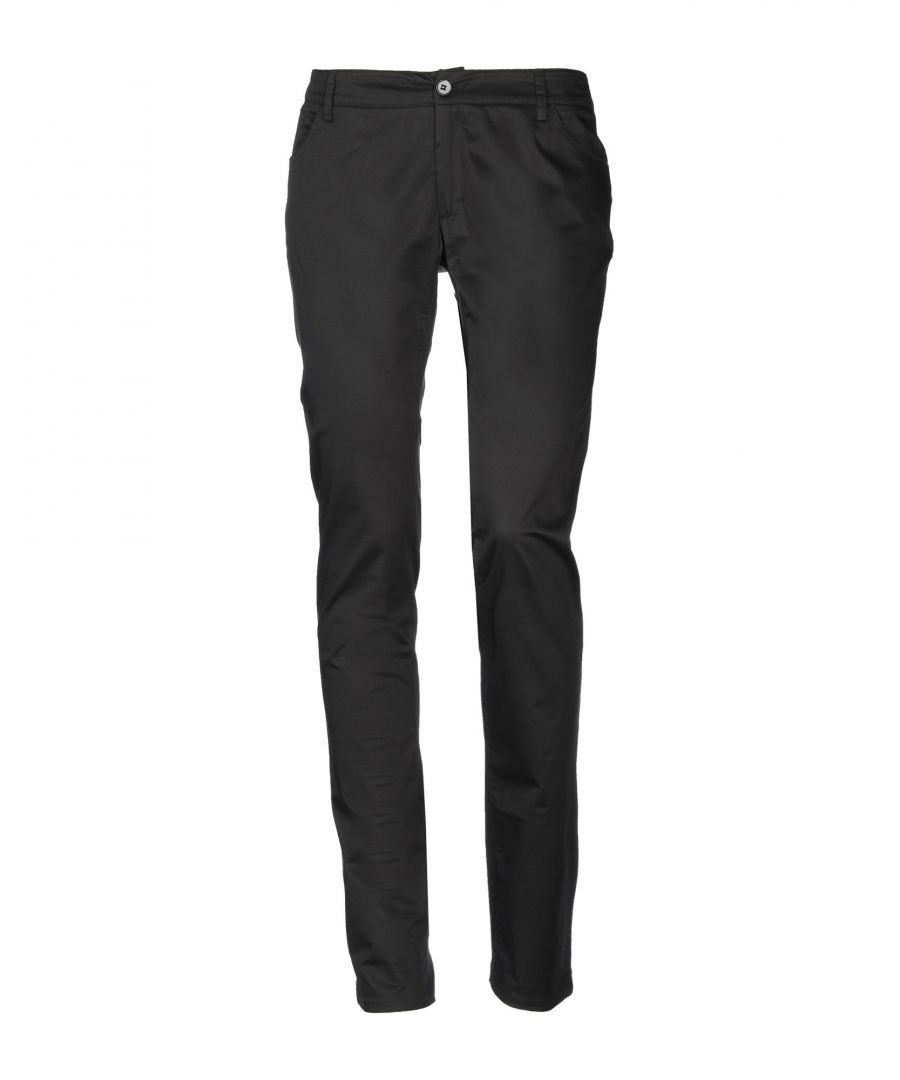Image for Calvin Klein Black Cotton Trousers