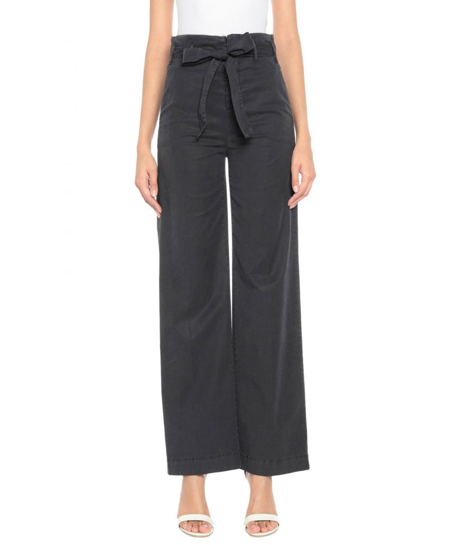 Image for Kaos Jeans Black High Waisted Trousers