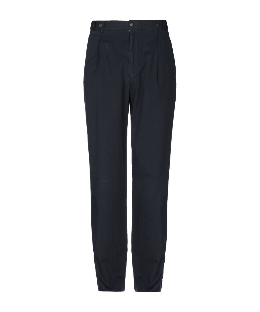 Image for Henry Cotton's Dark Blue Cotton Trousers