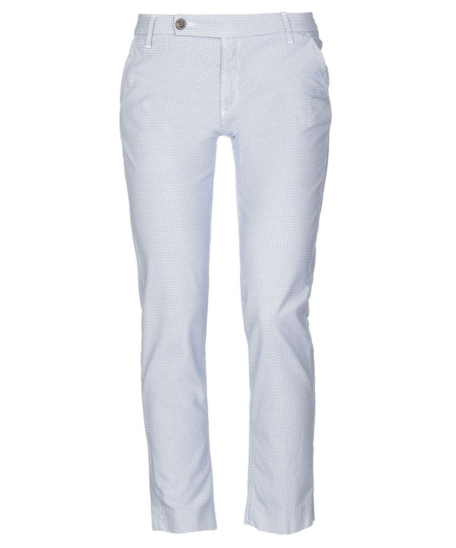Image for True Nyc Dark Blue Cotton Trousers
