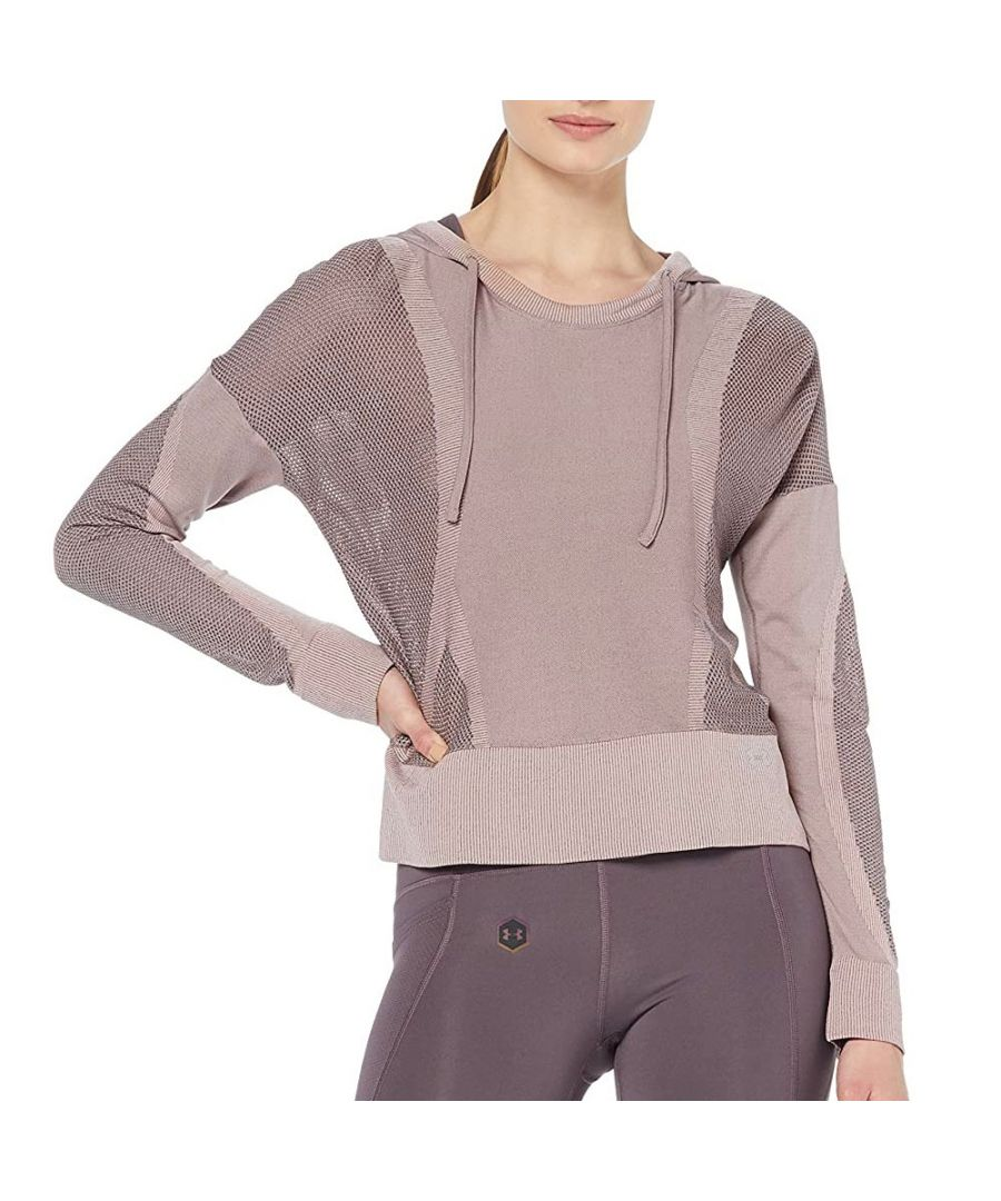 Image for Under Armour Vanish Seamless Womens Hoodie Pink