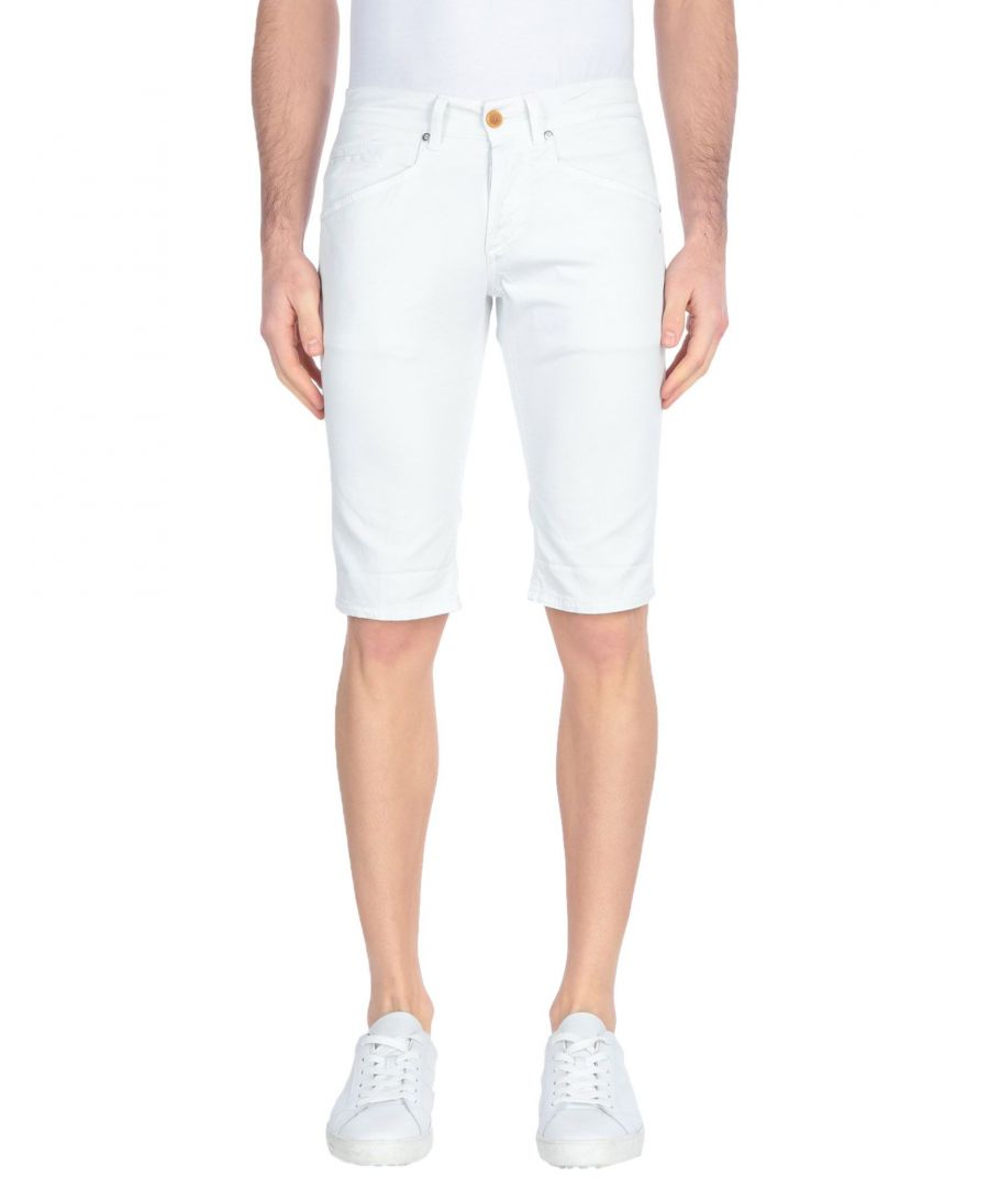 Image for Dondup Light Grey Cotton Shorts