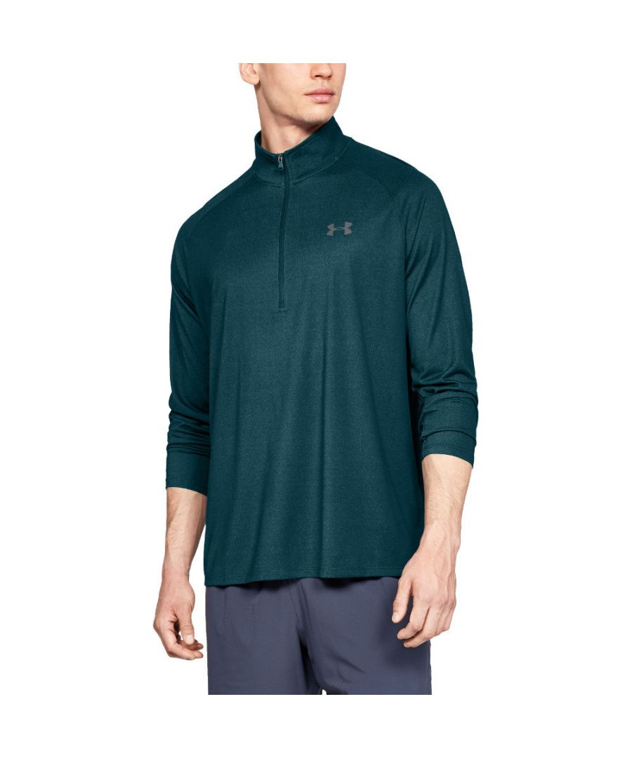 Image for Under Armour Mens Technical 1/2 Zip Loose Fit Training Running Top