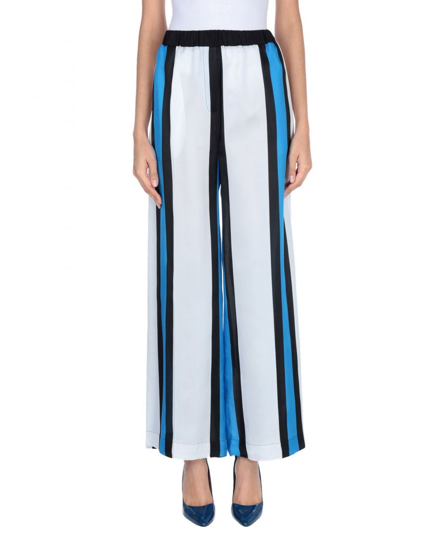 Image for Jucca Black Stripe Wide Leg Trousers