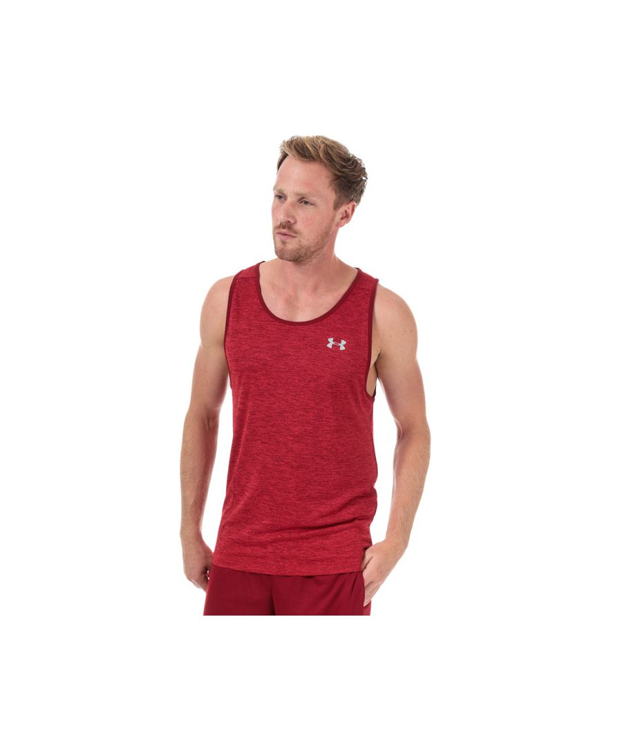 Image for Men's Under Armour Tech 2.0 Tank Top in Red