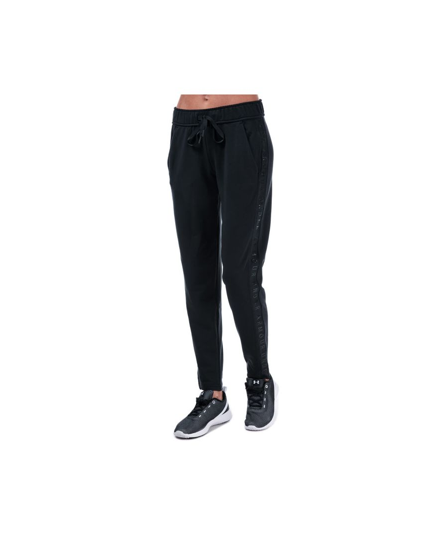 Image for Women's Under Armour Featherweight Fleece Pants in Black