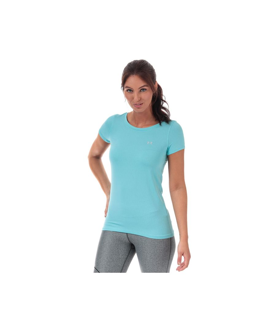 Image for Women's Under Armour HeatGear Armour T-Shirt in Blue