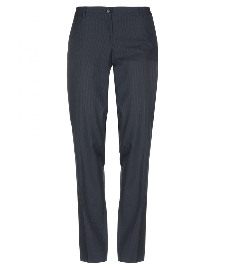 Image for Mauro Grifoni Blue Wool Trousers
