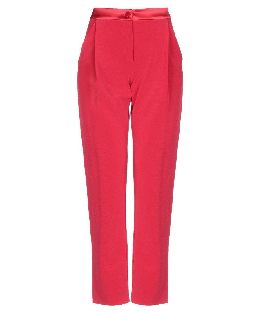 Image for Armani Collezioni Red Trousers