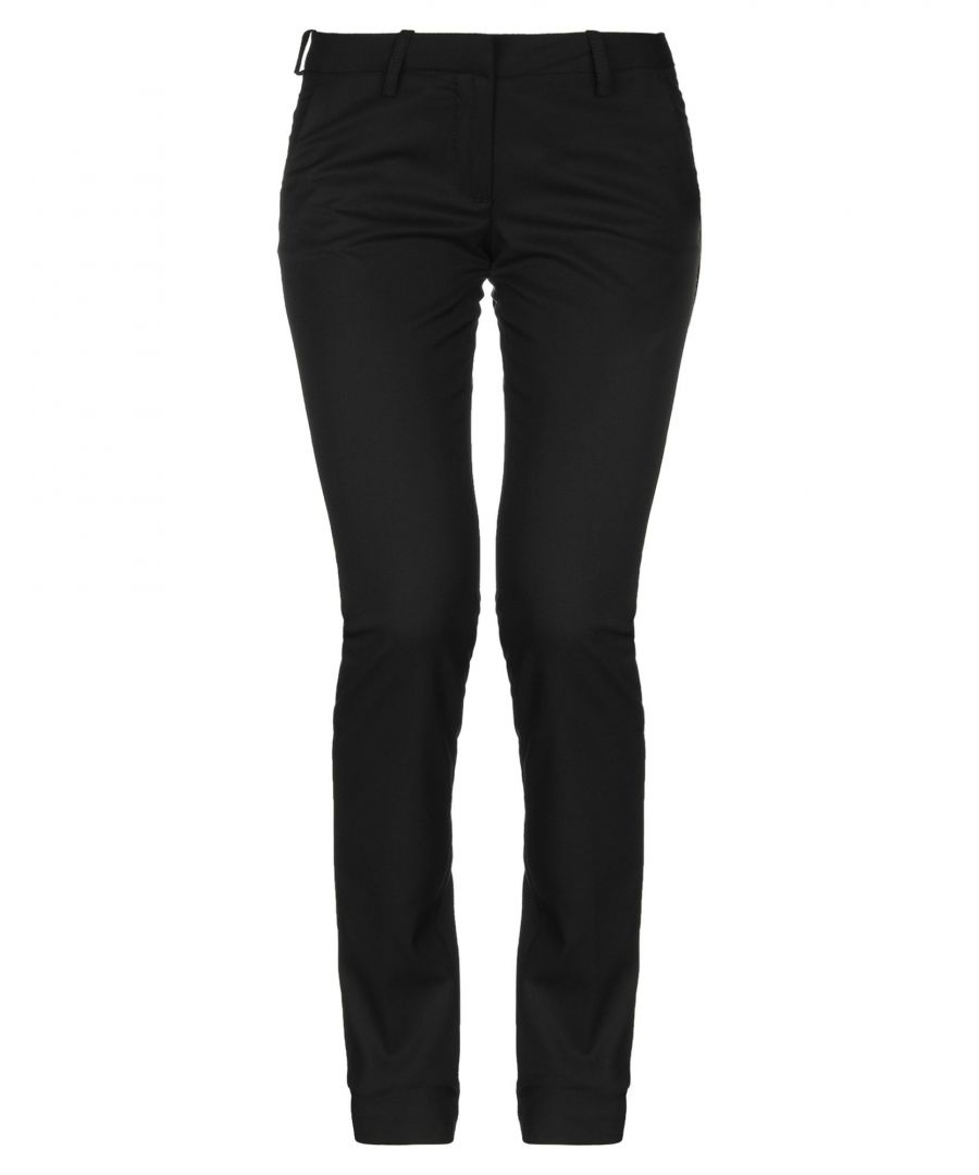 Image for Met Jeans Black Slim Fit Tapered Leg Trousers