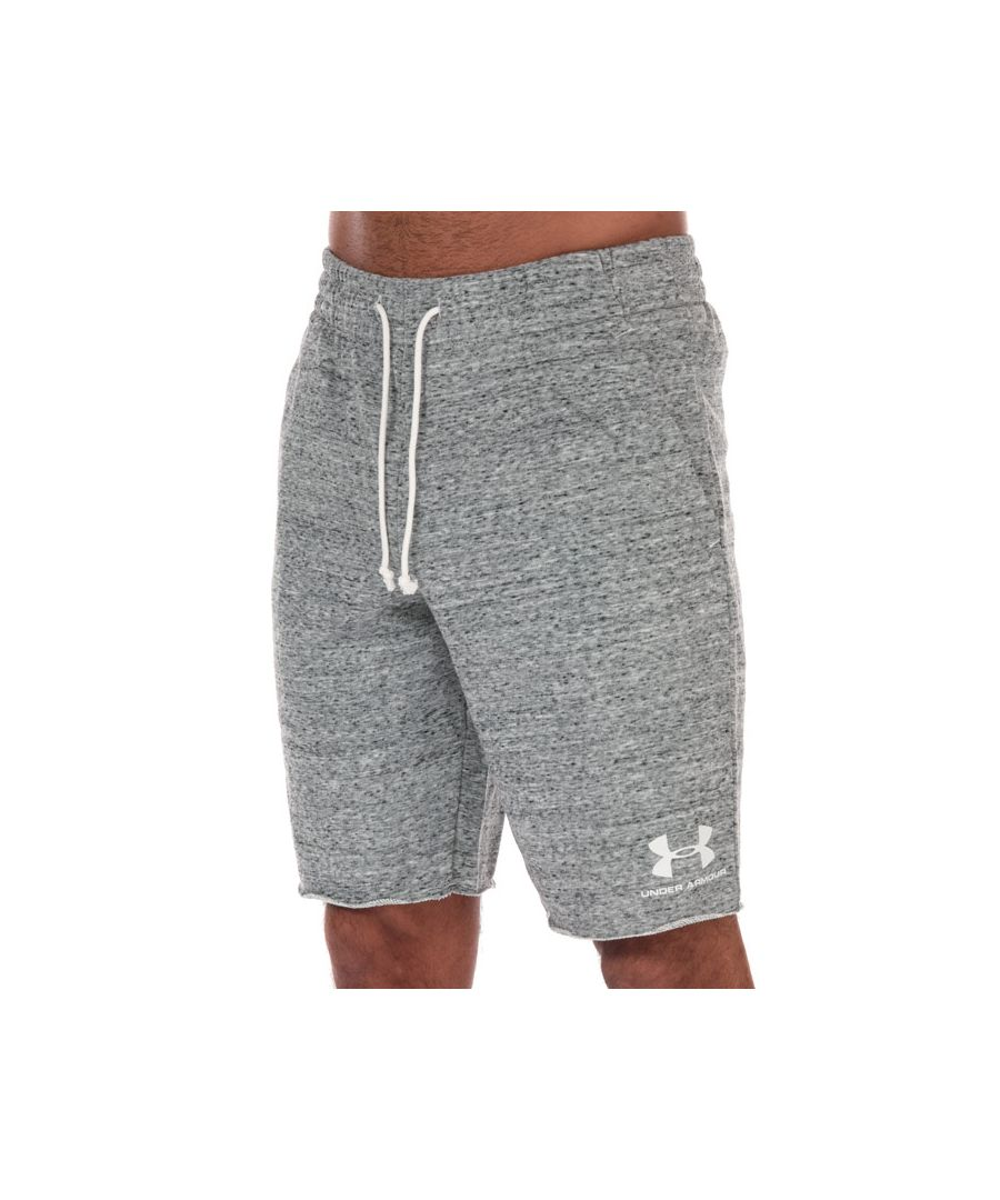 Image for Men's Under Armour Sportstyle Terry Shorts in White