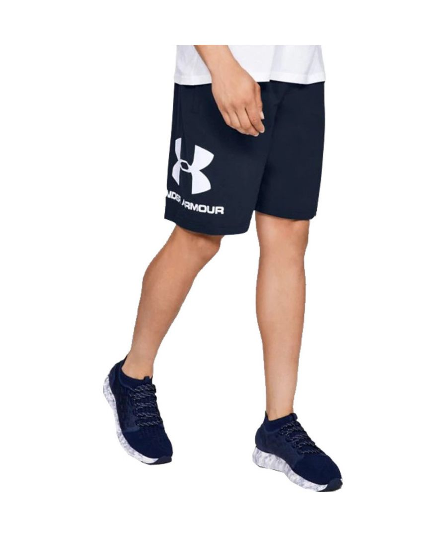 Image for Under Armour Mens Sportstyle Logo Cotton Sweat Shorts