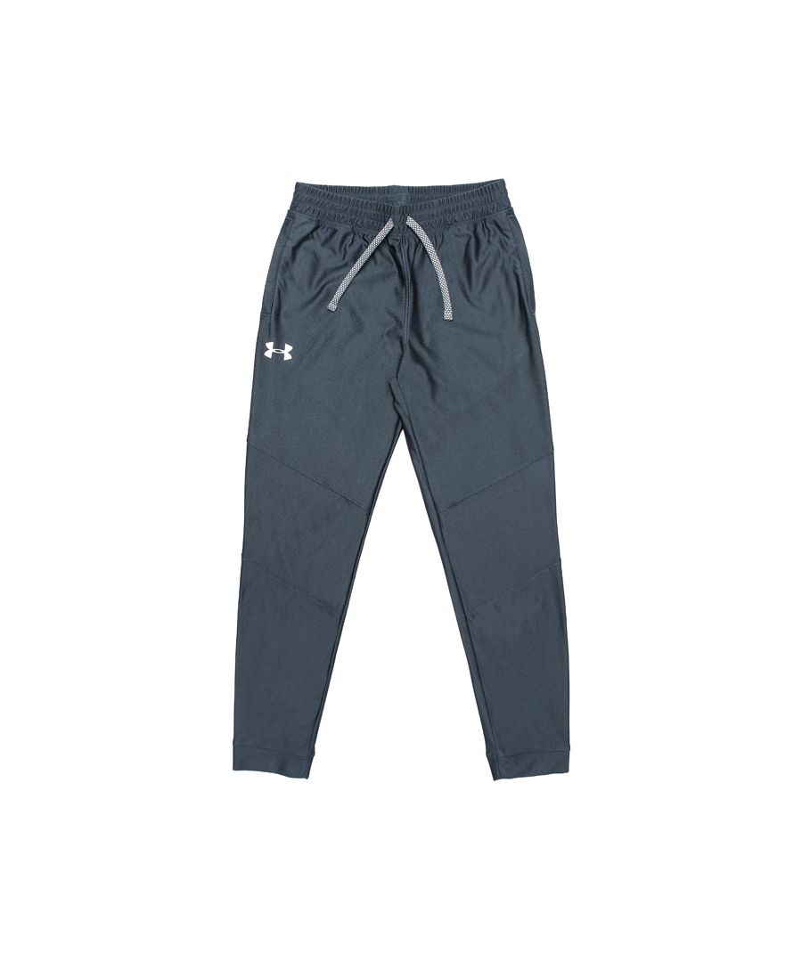 Image for Boy's Under Armour Junior Prototype Track Pant in Grey
