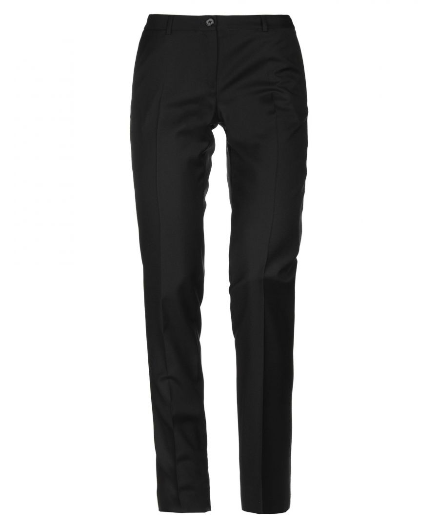 Image for Mauro Grifoni Black Wool Trousers