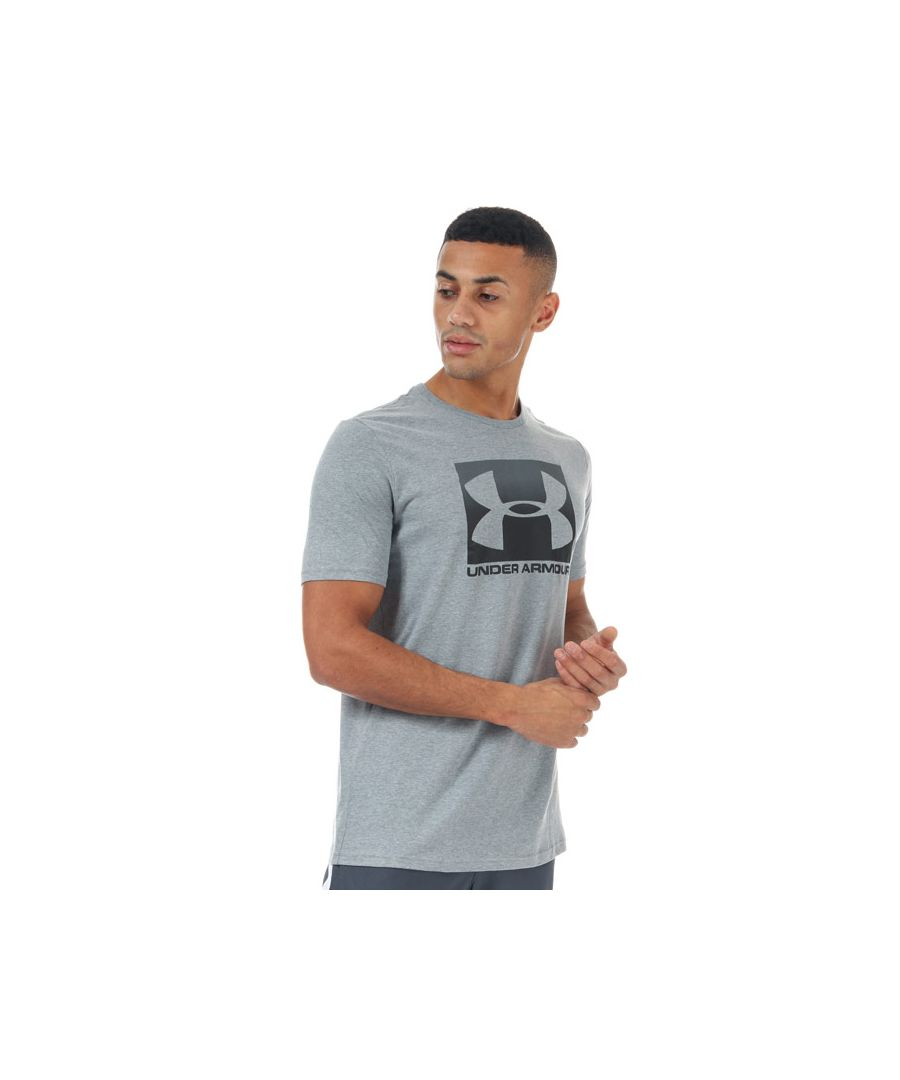 Image for Men's Under Armour Boxed Sportstyle Short Sleeve T-Shirt in Grey