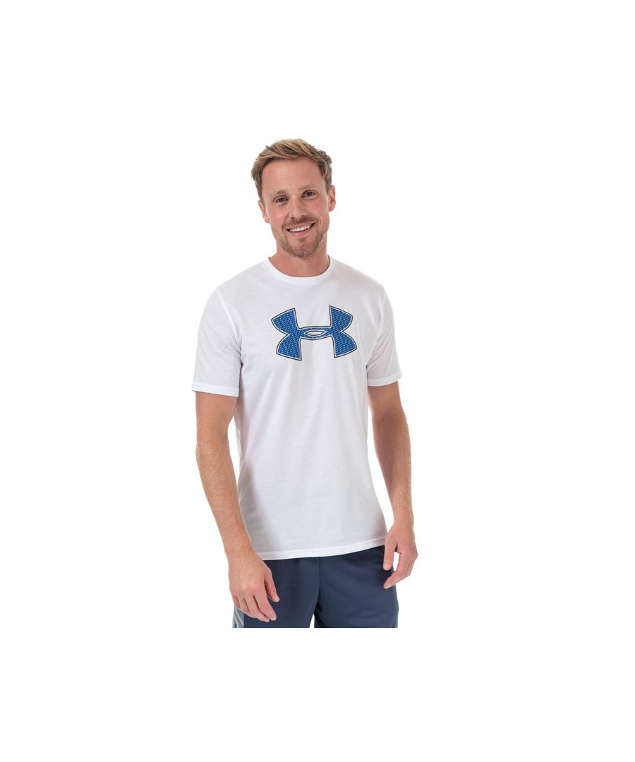 Image for Men's Under Armour Big Logo T-Shirt in White