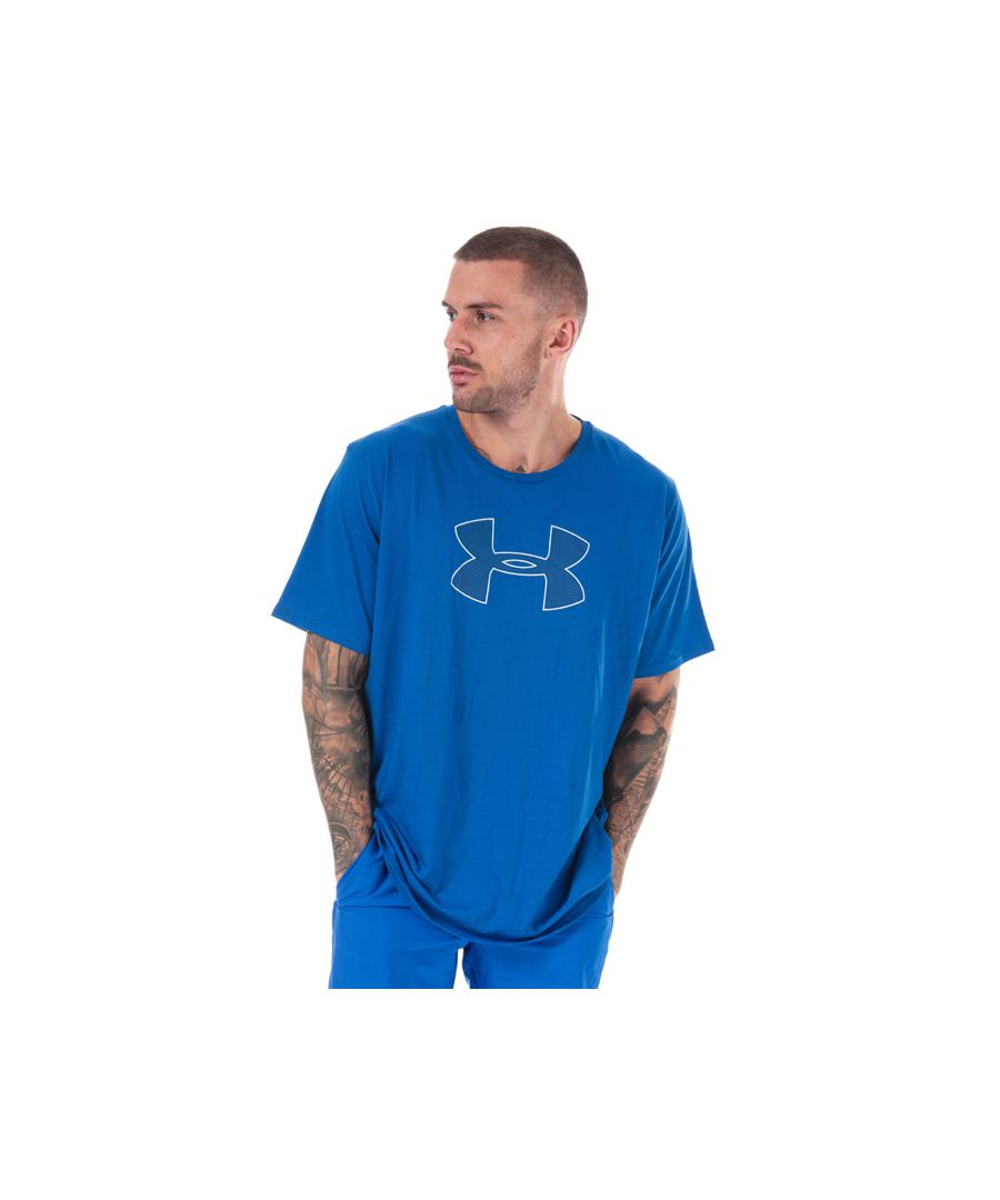 Image for Men's Under Armour UA Big Logo T-Shirt in Blue