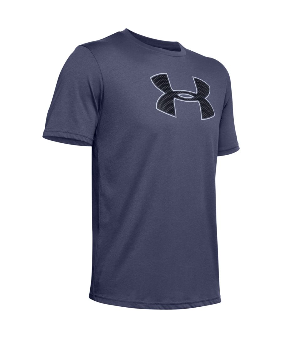 Image for Under Armour Mens Big Logo Super Soft Short Sleeve T Shirt
