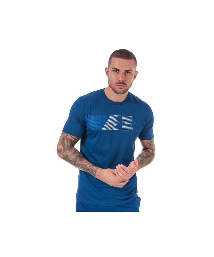 Image for Men's Under Armour UA Fast Left Chest T-Shirt in Blue
