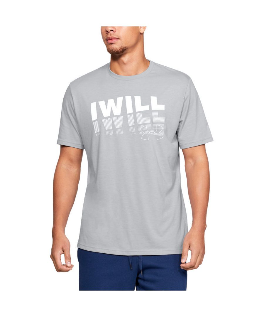 Image for Under Armour Mens I Will 20 Short Sleeve Graphic T Shirt