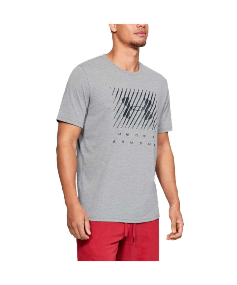 Image for Under Armour Mens Branded Big Logo Short Sleeve T Shirt