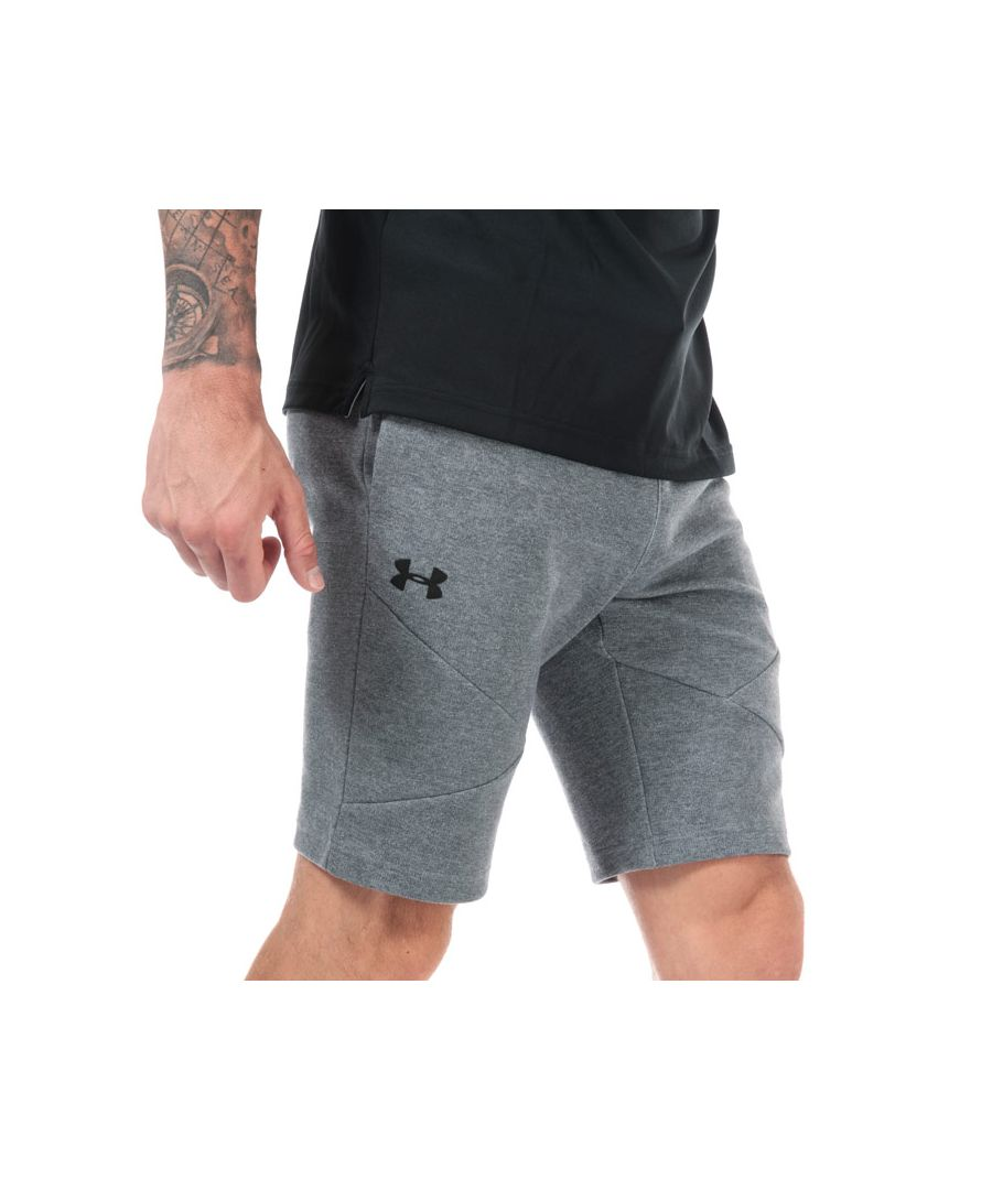 Image for Men's Under Armour UA Unstoppable Double Knit Shorts in Grey