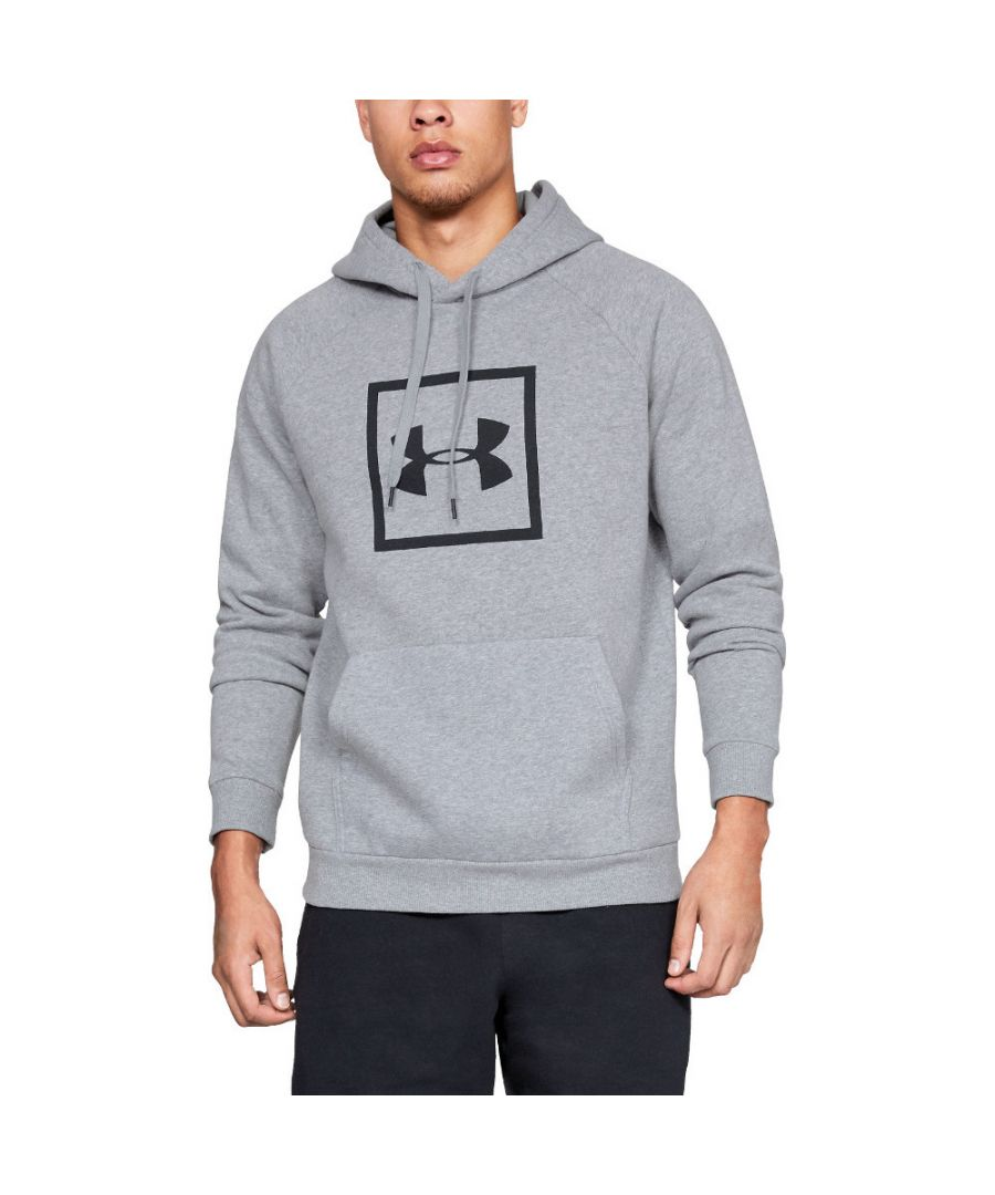 Image for Under Armour Mens Rival Fleece Logo Loose Fit Training Hoodie Sweater