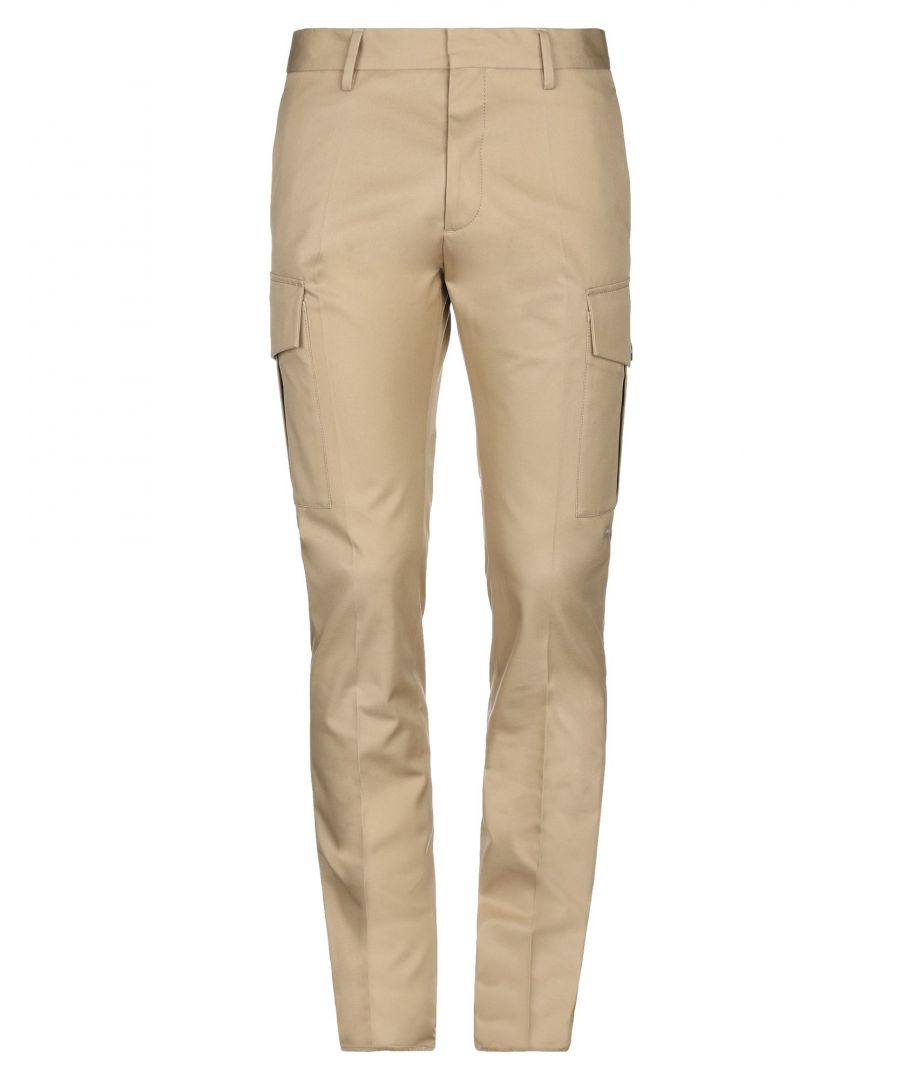 Image for Dsquared2 Beige Cotton Trousers