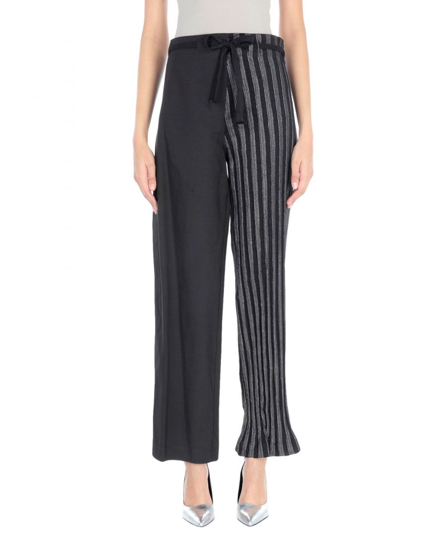 Image for Collection Privee? Woman Casual trousers Black Cotton