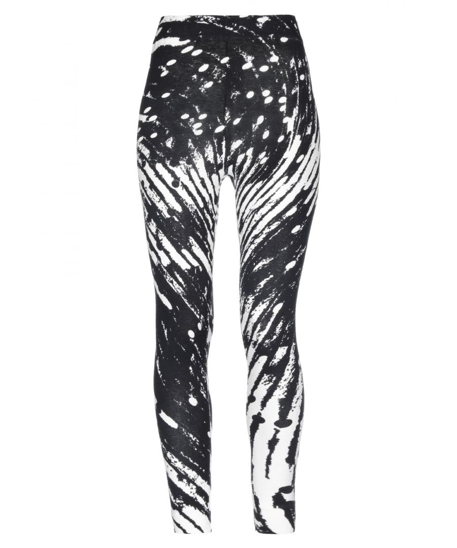 Image for Henrik Vibskov Black Print Cotton Leggings