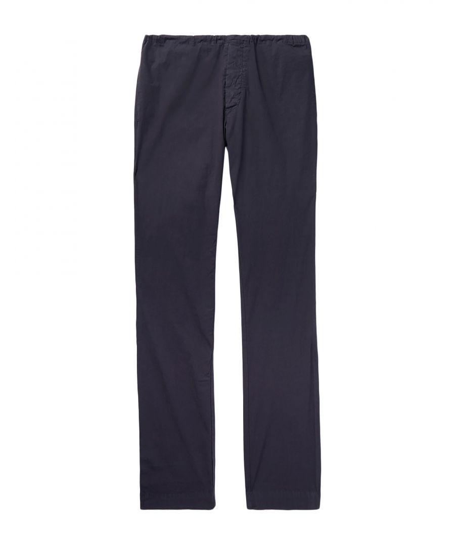 Image for TROUSERS James Perse Dark blue Man Cotton