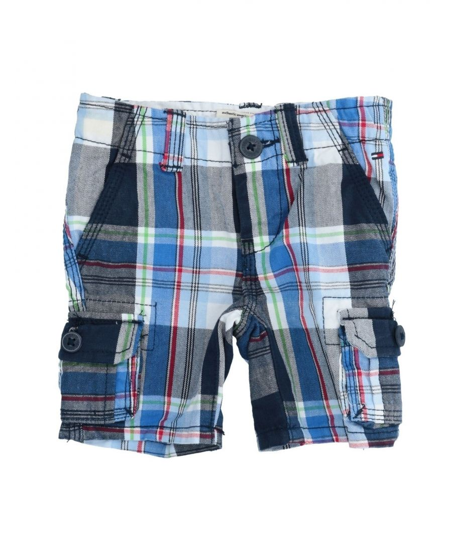 Image for TROUSERS Boy Tommy Hilfiger Blue Cotton