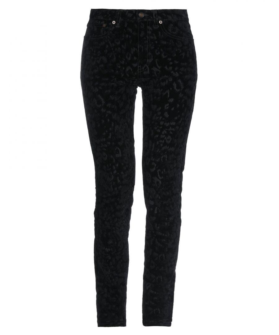 Image for TROUSERS Woman Saint Laurent Black Cotton