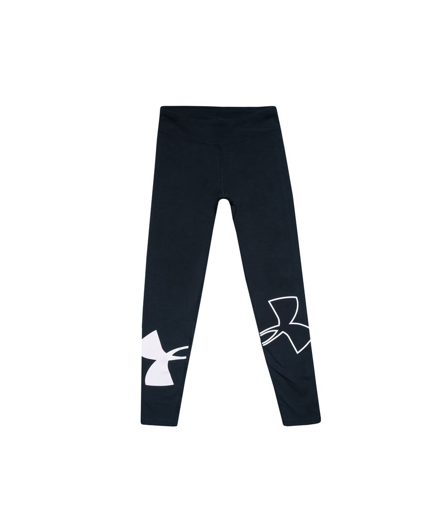 Image for Girl's Under Armour Junior Finale Legging in Black