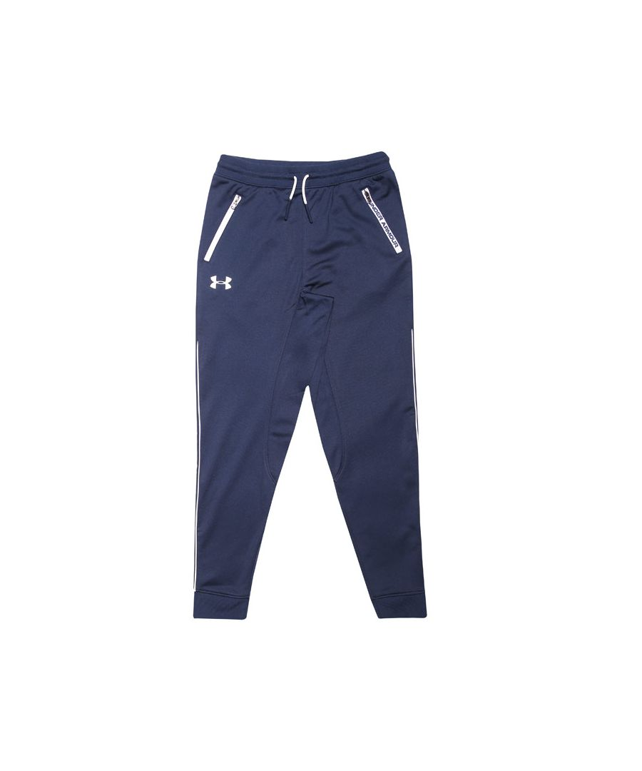 Image for Boys' Under Armour Junior Pennant Tapered Jog Pant in Navy
