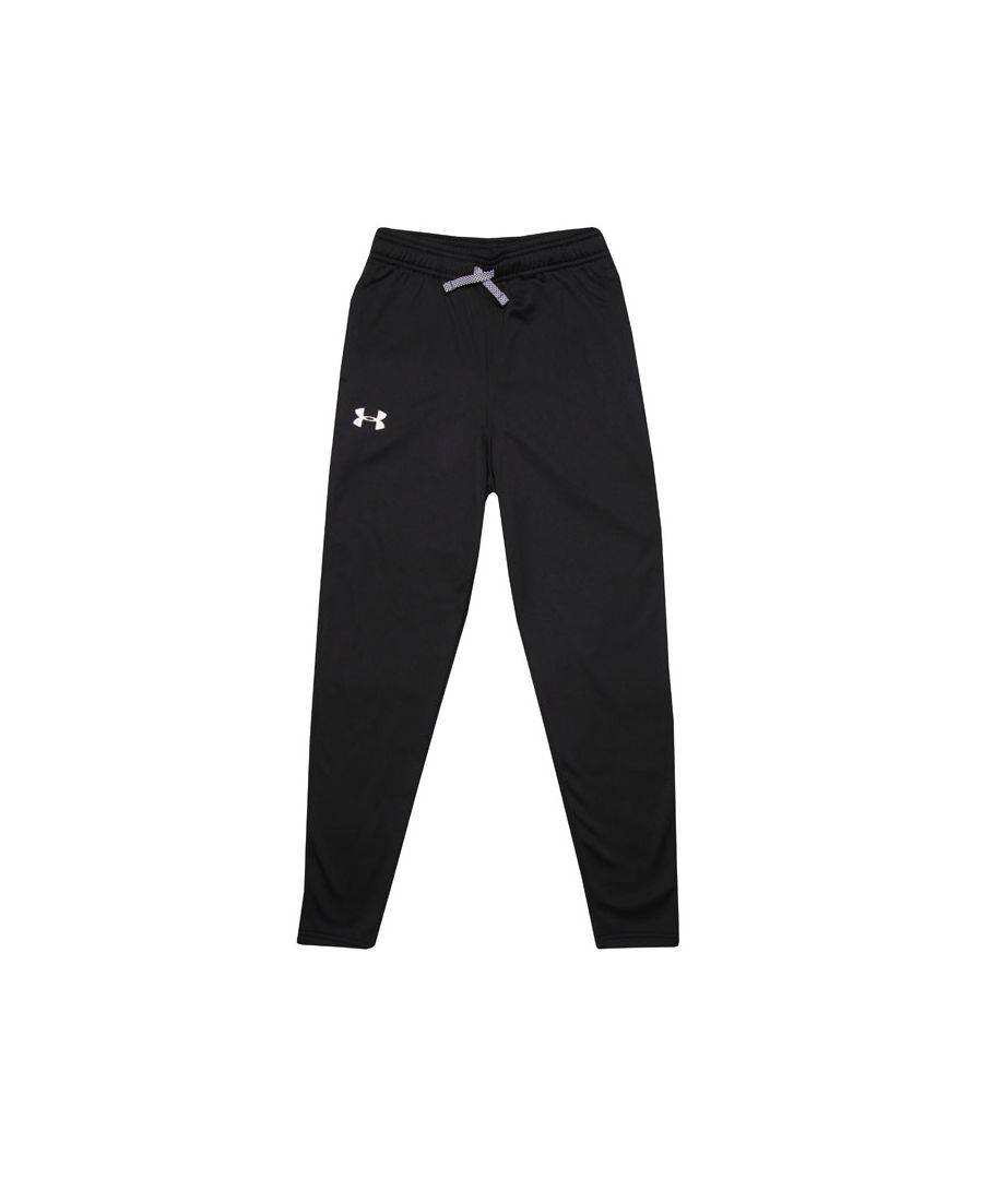 Image for Boy's Under Armour Junior Brawler Tapered Jog Pants in Black