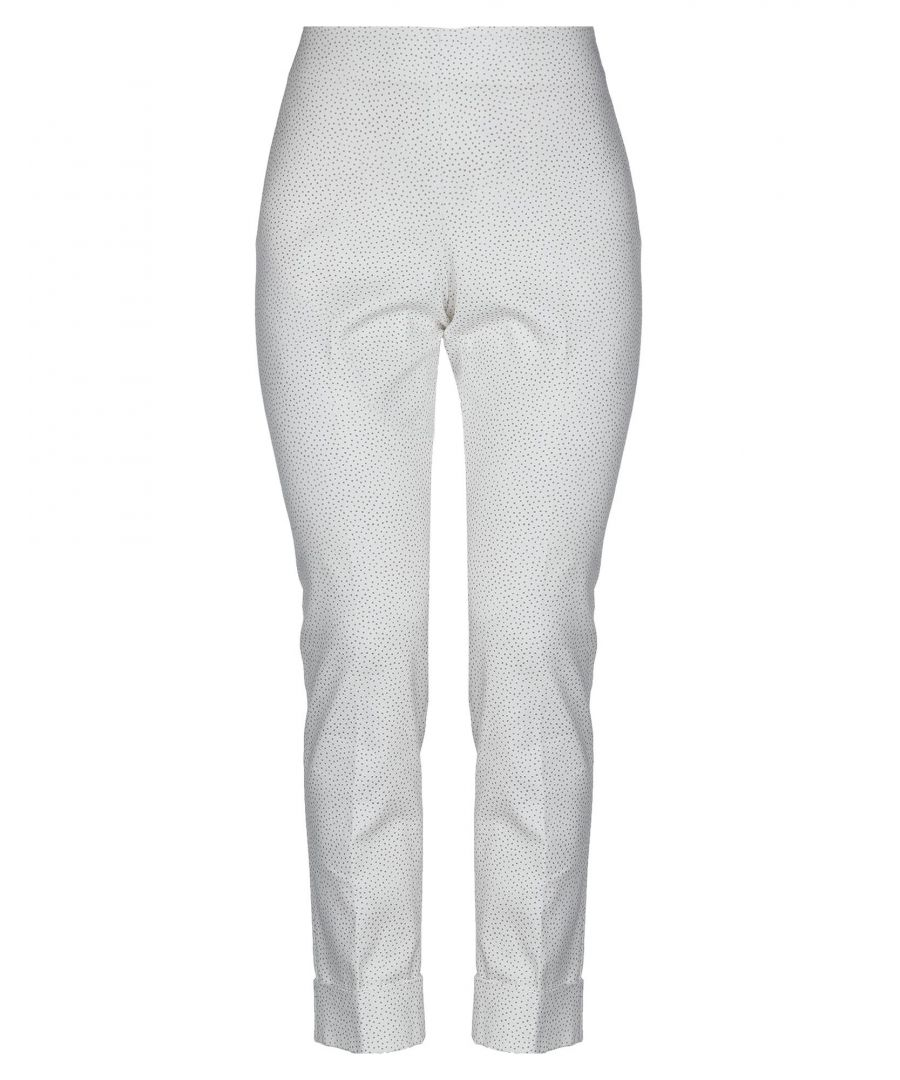 Image for TROUSERS Woman Peserico Sign White Cotton