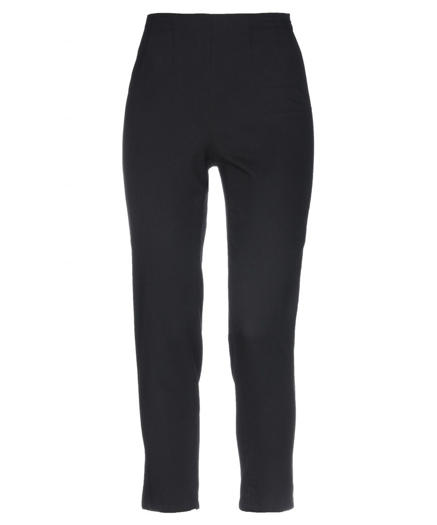 Image for Kenzo Black Cotton Trousers