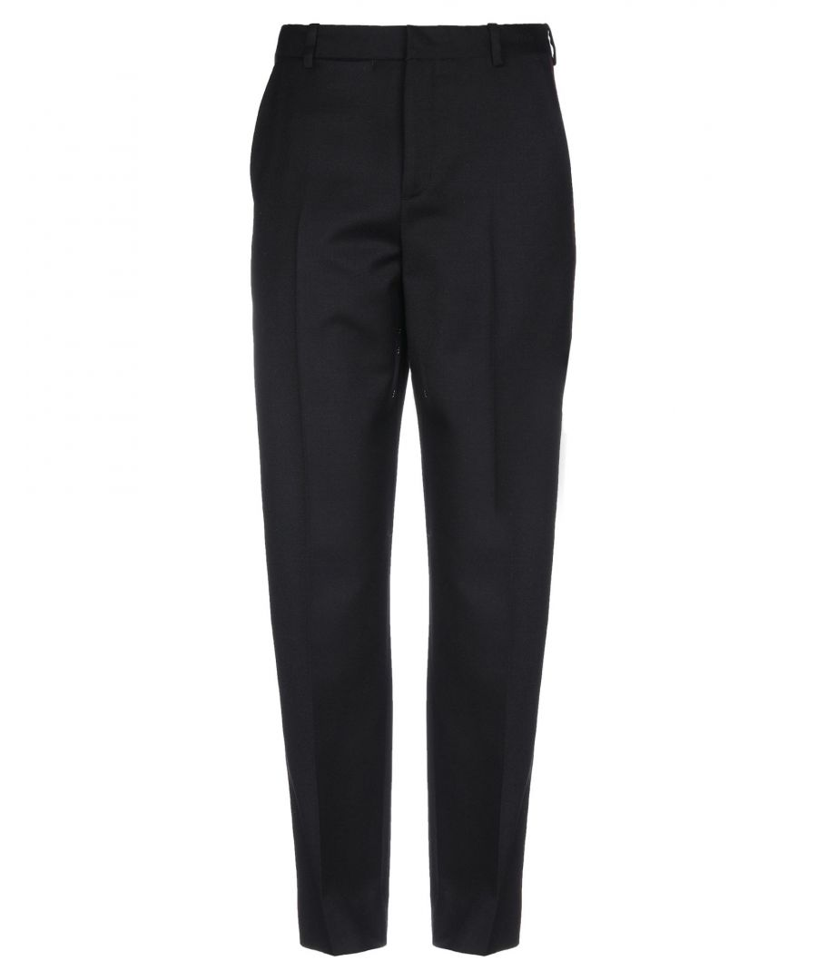 Image for Wood Wood Black Wool Trousers