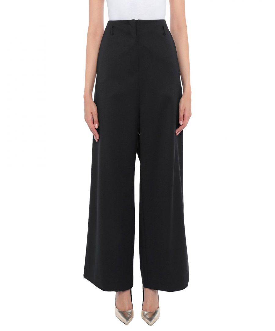 Image for Vivienne Westwood Anglomania Black Wide Leg Trousers