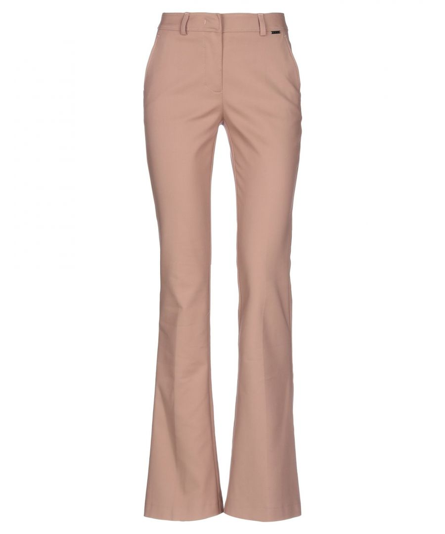 Image for Nenette Woman Casual trousers Pale pink Cotton