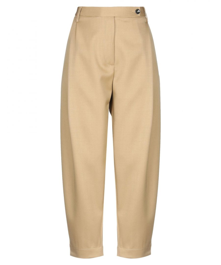 Image for TROUSERS Nine:Inthe:Morning Camel Woman Wool