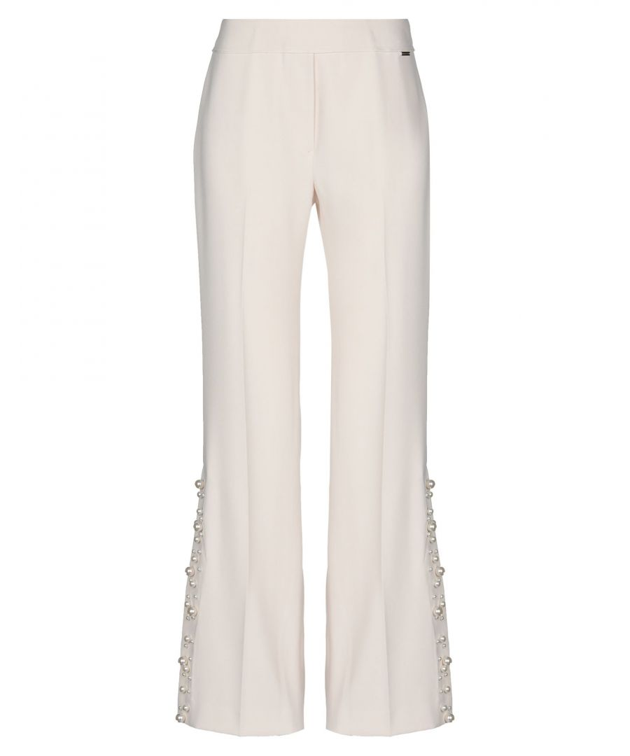 Image for Nenette Woman Casual trousers Ivory Polyester