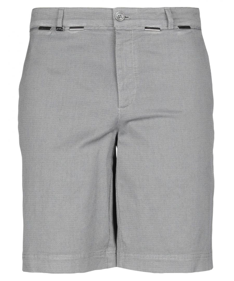Image for Versace Collection Grey Cotton Shorts