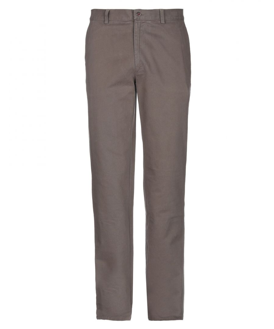 Image for Fay Khaki Cotton Trousers