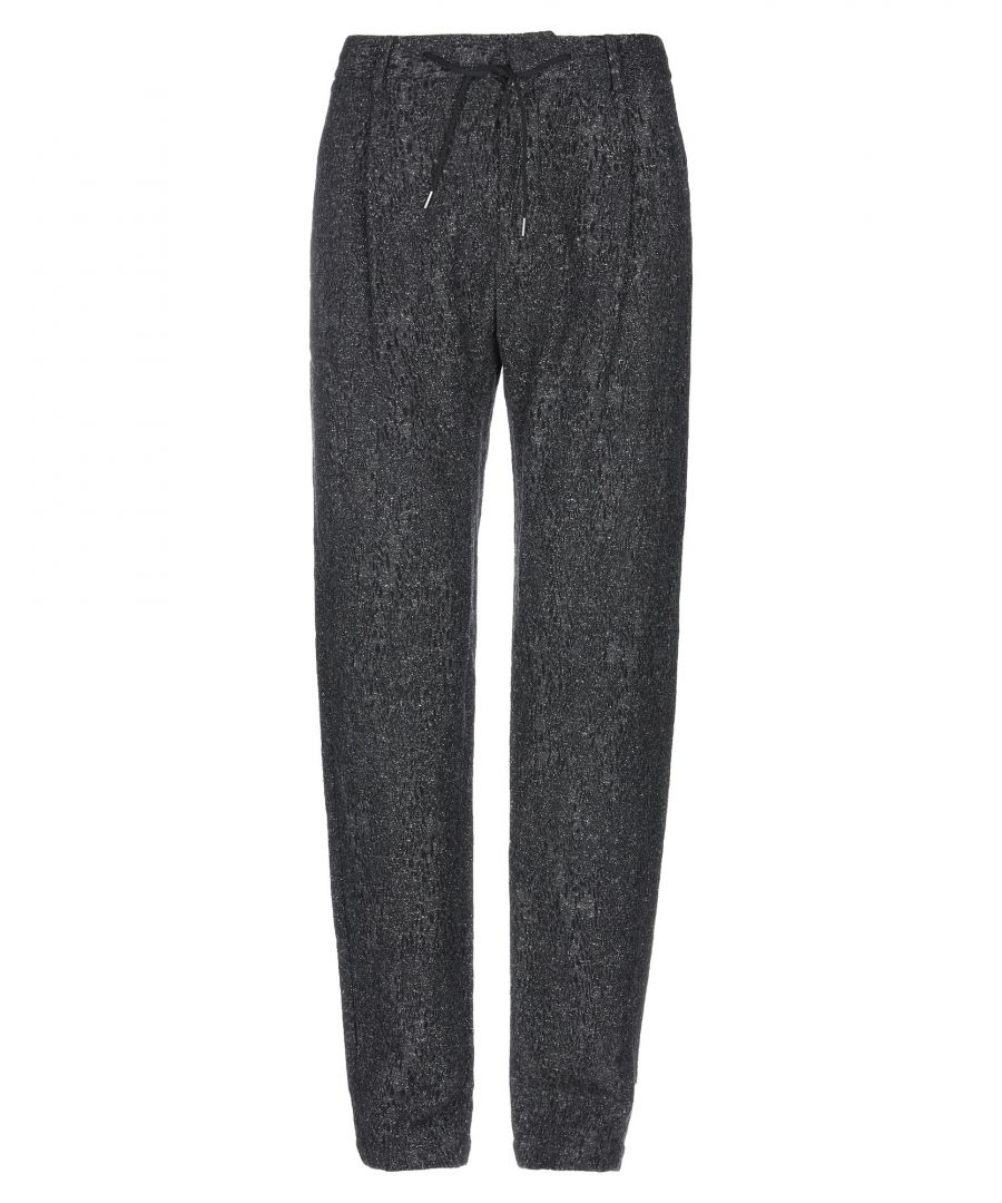 Image for Emporio Armani Black Virgin Wool Trousers