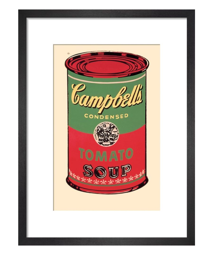 Image for Campbell's Soup Can, 1965 (green & red) Art print by Andy Warhol